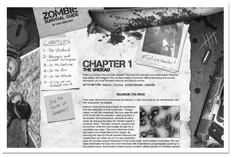 site web zombie survival guide